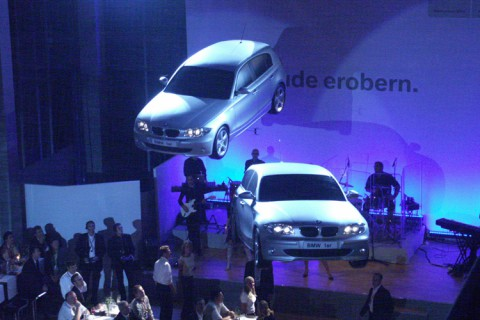 Launch of BMW 1 Series