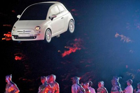 Fiat 500 Launch Event