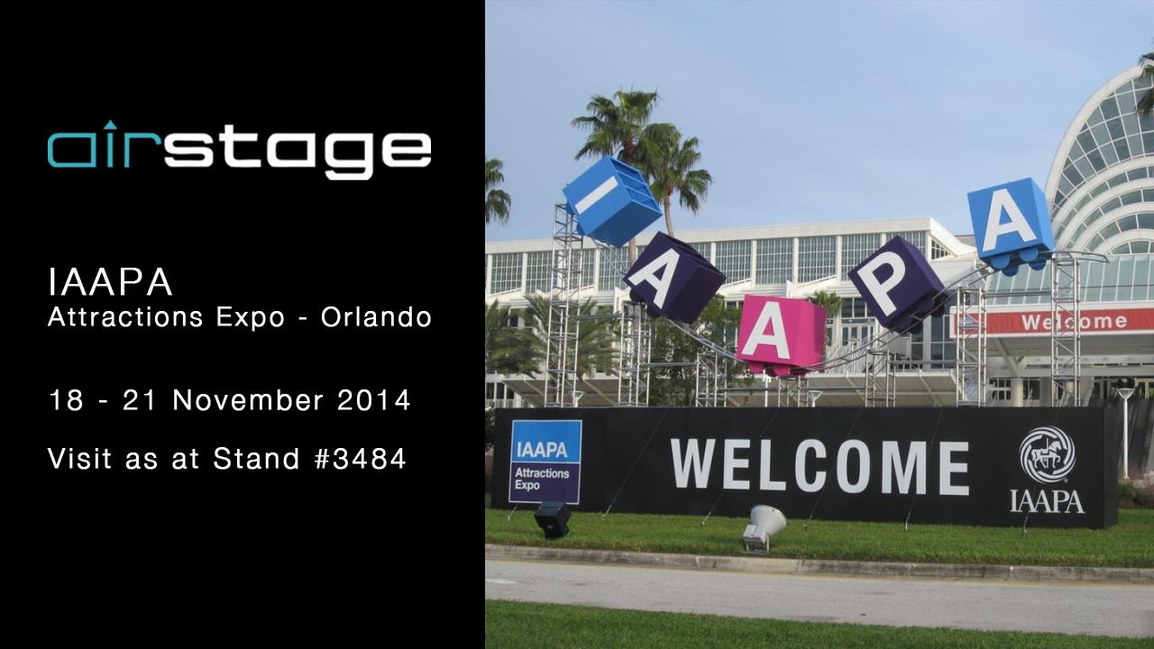 Airstage at IAAPA_Orlando