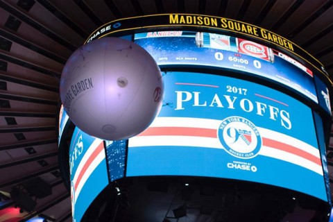 AirCam – Madison Square Garden